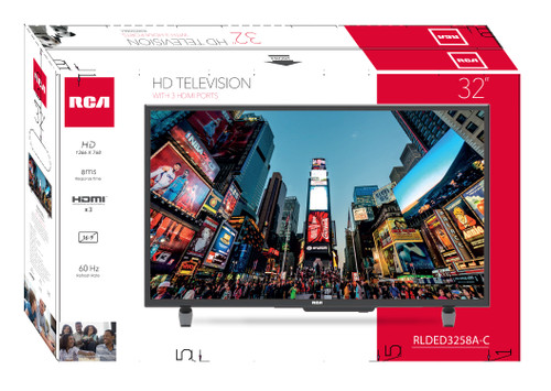 "RCA 32"" Class HD (720P) LED TV - MSRP 200$ - Like New"