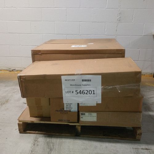 12 Units of Warehouse Supplies - MSRP 2532$ - Brand New (Lot # 546201)