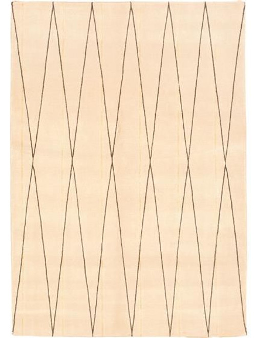 "1 Unit of 5'7"" X 8'0"" Kathmandu Silk Touch Ivory Area Rugs - MSRP 960$ - Brand New (Lot # CP546209)"