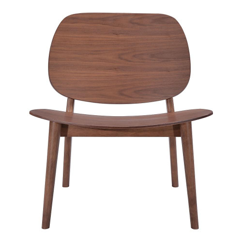 """1 Unit of Walnut Priest 26"""" Wide Rubberwood Accent Chairs (2 Pack) - MSRP 676$ - Brand New (Lot # CP546210)"""