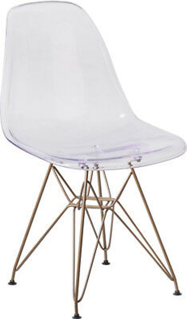 2 Units of Elon Series Ghost Chairs - MSRP 220$ - Brand New (Lot # CP546214)