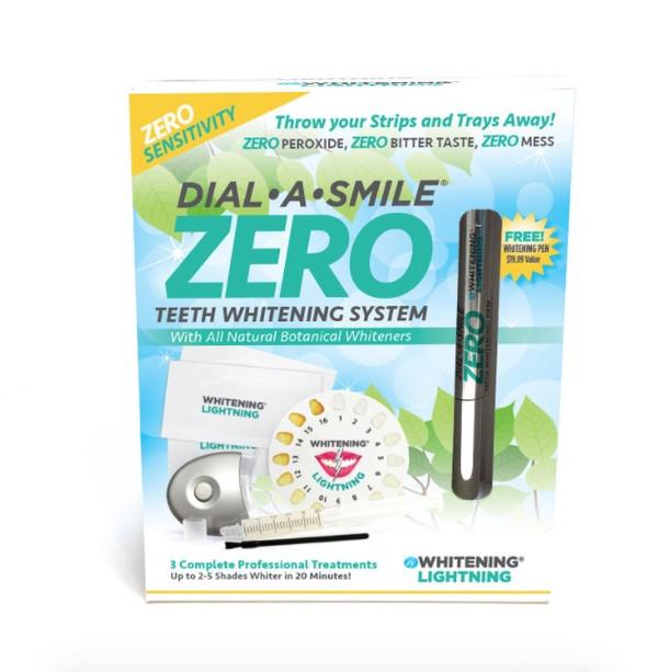 Dial a Smile ZERO Teeth Whitening System