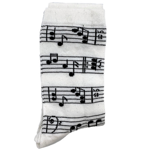 Musical Notes White (Women)