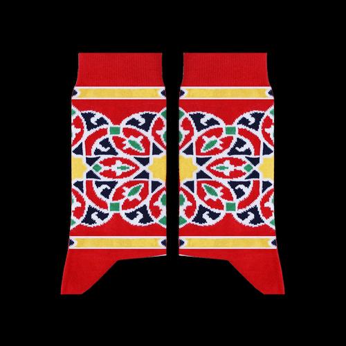 Sikasok Khayamiya Socks Red (Women's)