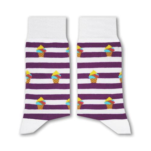 Sikasok Booza Socks Purple (Men's)