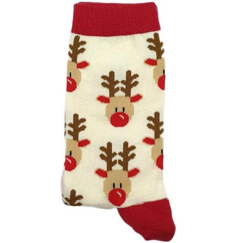 Reindeer Faces (White)