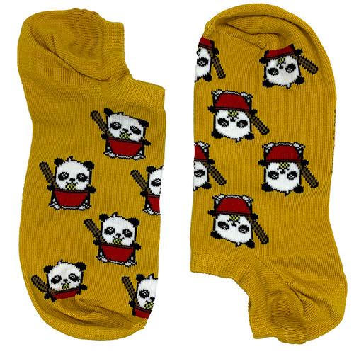 Noodle Panda Yellow Short (Women's)