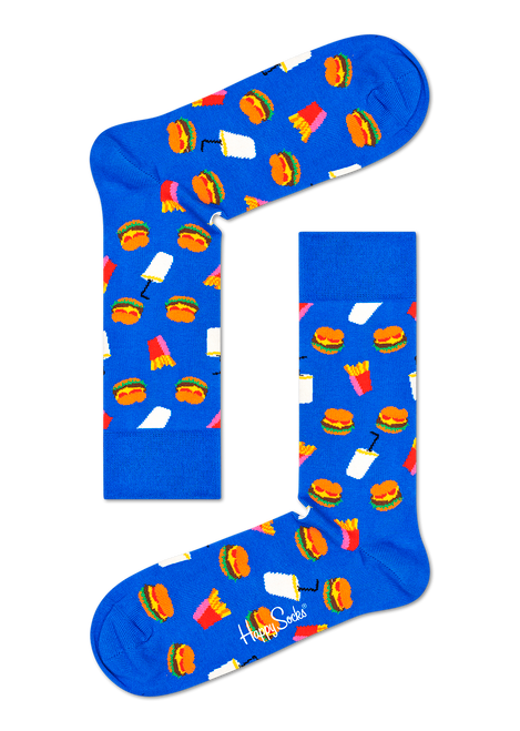 Happy Socks - Hamburger Socks