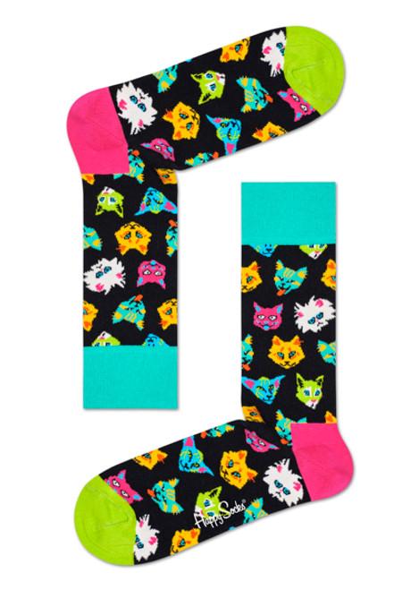Happy Socks - Funny Cat Sock (Men)