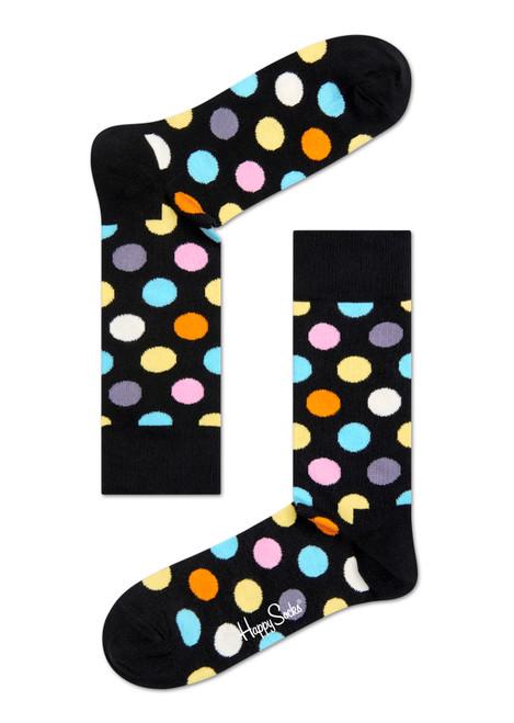 Happy Socks - Big Dot Black Socks (Men)
