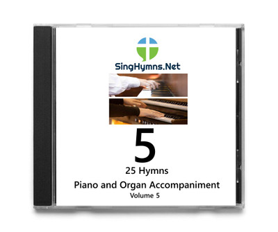 25 Hymns Volume 5 - Piano and Organ  Accompaniment CD - Choose High or Low