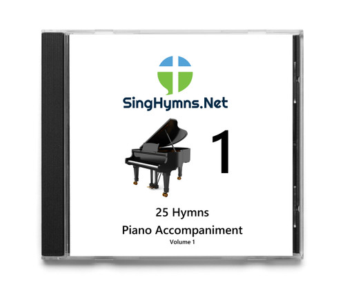 25 Hymns Volume 1 PIANO Accompaniment CD