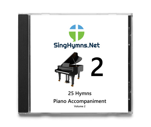 25 Hymns Volume 2 PIANO Accompaniment CD