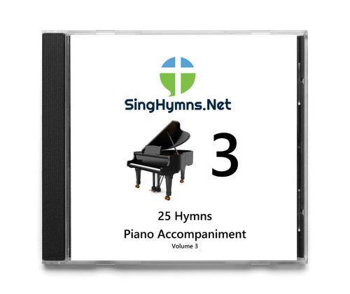 25 Hymns Volume 3 PIANO Accompaniment CD