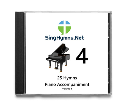 25 Hymns Volume 4 PIANO Accompaniment CD