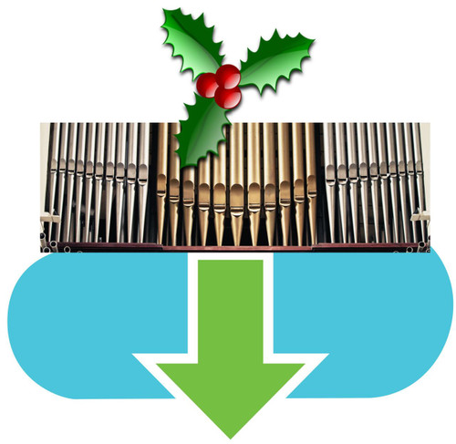 25 Christmas Hymns ORGAN Download HIGH (Common) Keys MP3 (1 Zip File)