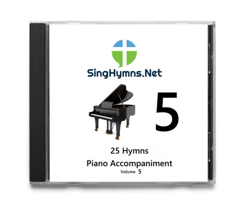 25 Hymns   Volume 5 PIANO  CD