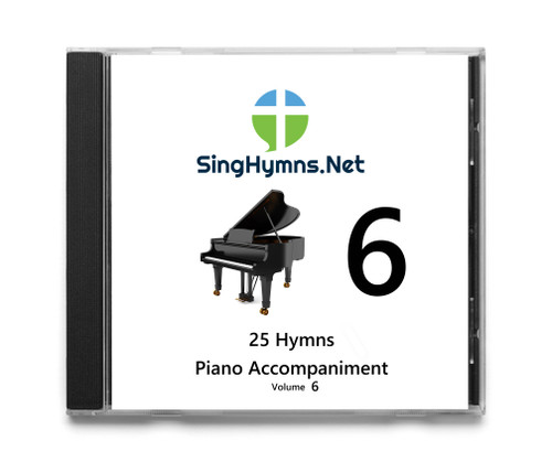 25 Hymns Volume 6 PIANO Accompaniment CD