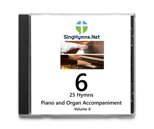 25 Hymns Volume 6 PIANO-ORGAN Duo Accompaniment CD