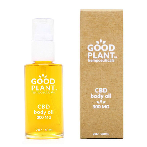 Good Plant Hemp CBD Body Oil 300mg CBD