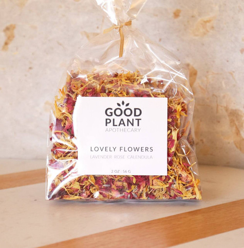 Good Plant Herbal Apothecary Lovely Flower Blend