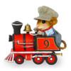 Wonderland Express RED Engine SET - M-453, M-453b