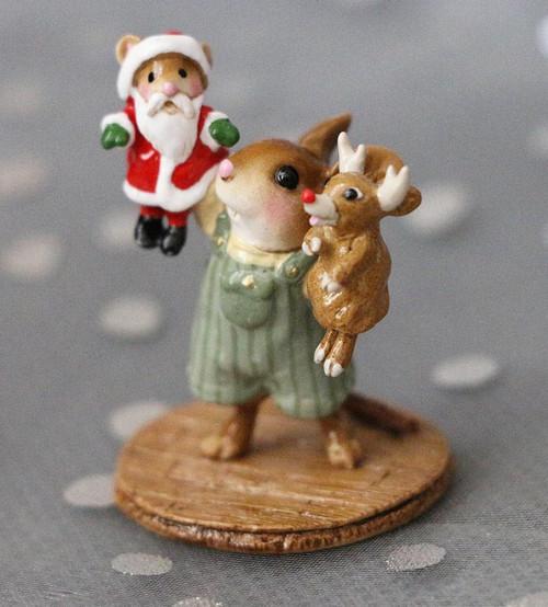 M-657b The Santa & Rudy Show (Boy) - RETIRED