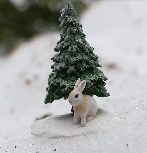 A-51 Snowy Tree & Bunny - LIMITED