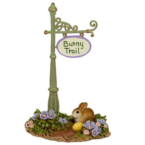A-49c Bunny Trail Sign Post - LIMITED
