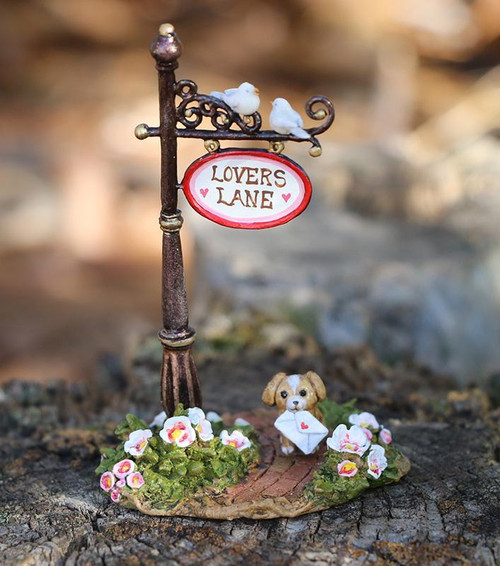 A-49d Lover's Lane Sign Post - LIMITED
