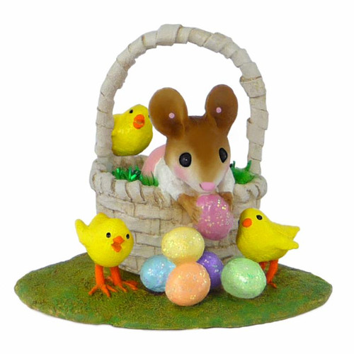 M-504a Easter Basket Bounty Girl - RETIRED