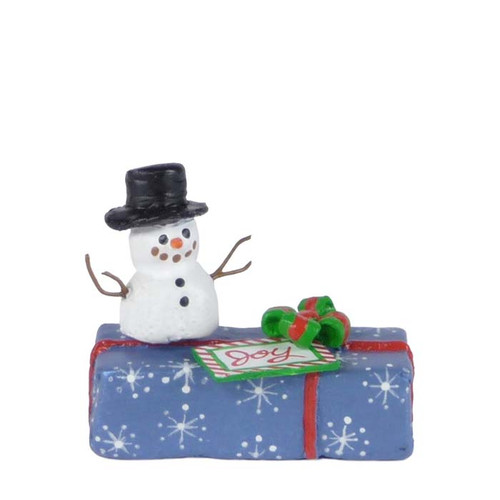 A-34 Gift with Snowman - LIMITED