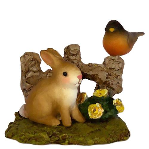 A-37 Spring Bunny & Robin - RETIRED