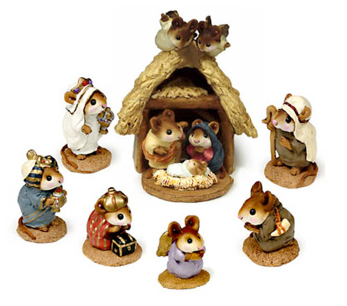 Complete Nativity set - Christmas Pageant M-117, M-121a, M-121b, M-121c, M-122a, M-122b, M-144, M-145a