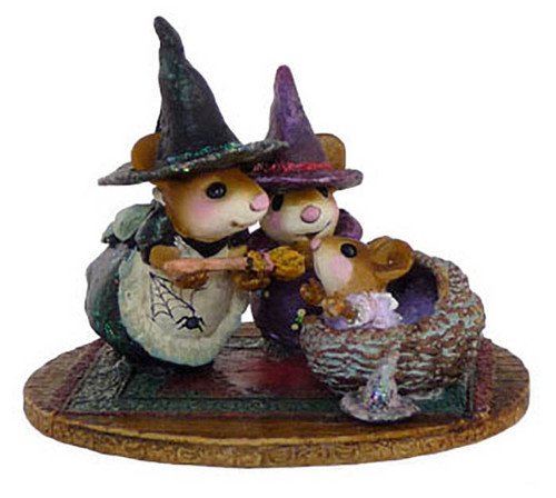 M-373b Baby Witch's First Broom - LIMITED