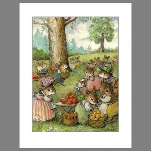 Note 10: Apple Picking (set of 6 note cards)