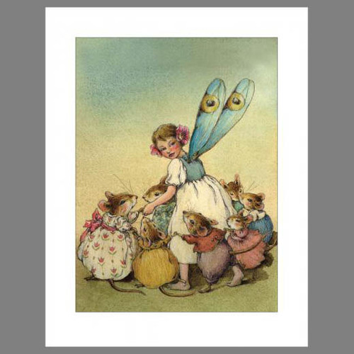 Note 2: Fairy Circle (set of 6 note cards)