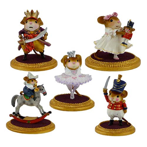 Nutcracker Set of 5 LIMITED - NC-1, NC-2, NC-3, NC-4, NC-5