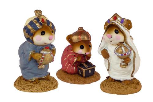 Wise Men set - M-121a, M-121b, M-121c - Christmas Pageant