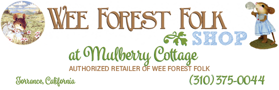 Mulberry Cottage - Wee Forest Folk Shop