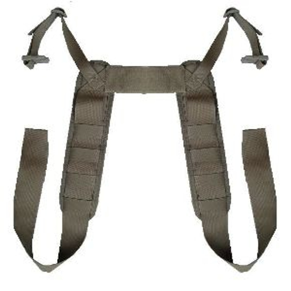 ATS Tactical Gear Modular Padded H-Harness in Ranger Green