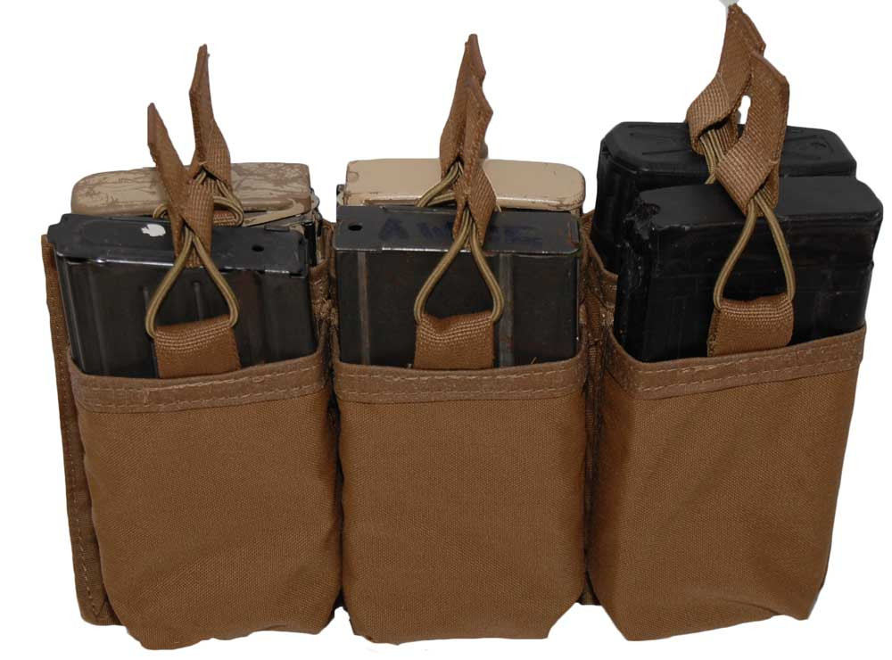 ATS Tactical Gear SCAR-H Six Pack Shingle in Coyote Brown
