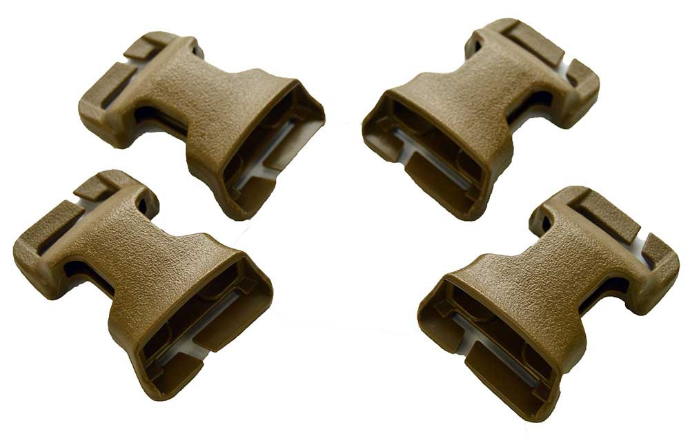 ATS Tactical Gear Slimline Cummerbund Adapter Kit in Coyote Brown
