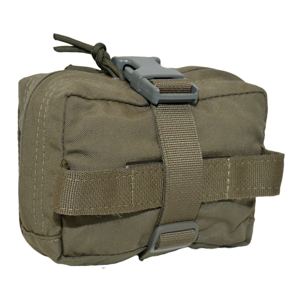 ATS Tactical Gear SOF BLEEDER POUCH RIP AWAY in ranger Green