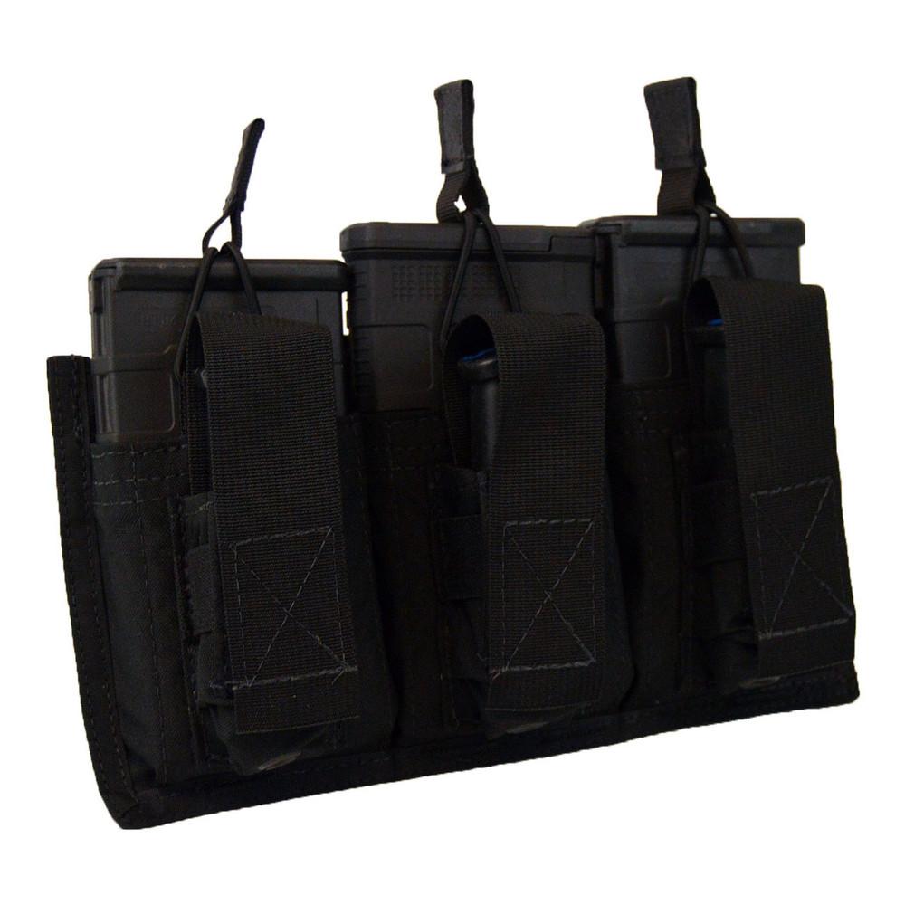 ATS Tactical Gear Triple 7.62/Glock Shingle in Black