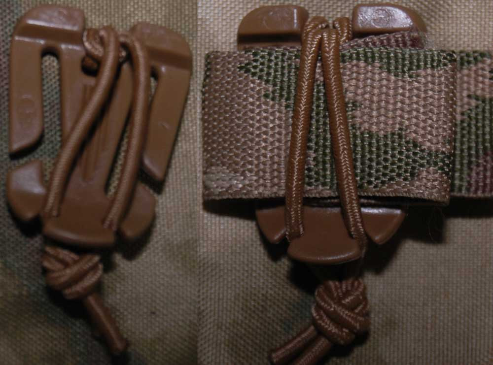 Web Dominator Strap Keeper X4 in Coyote Brown