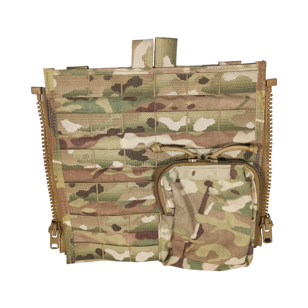 """ATS CRYE BACK PANEL WITH 6"""" X 5"""" Pouch"""