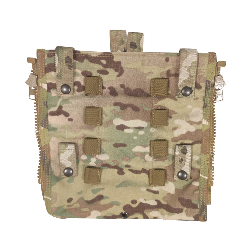 "ATS CRYE BACK PANEL WITH 6"" X 5"" Pouch"
