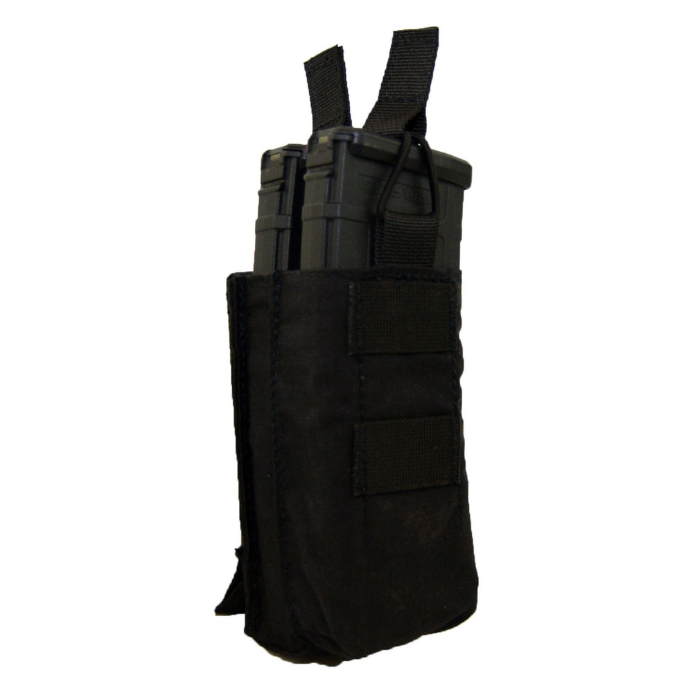 ATS Tactical Gear Double M4 Stacked Shingle in Black