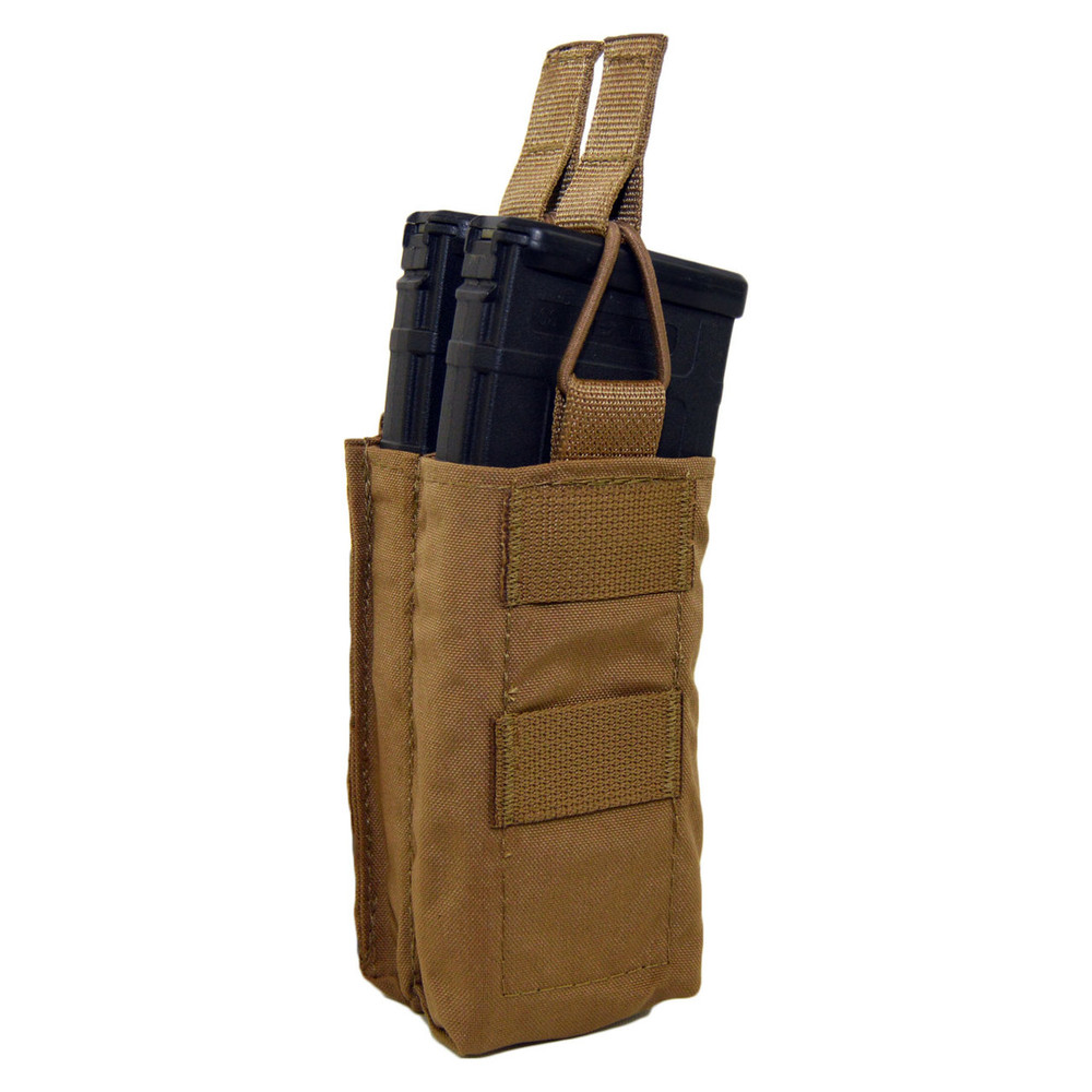 ATS Tactical Gear Double M4 Stacked Shingle in Coyote Brown